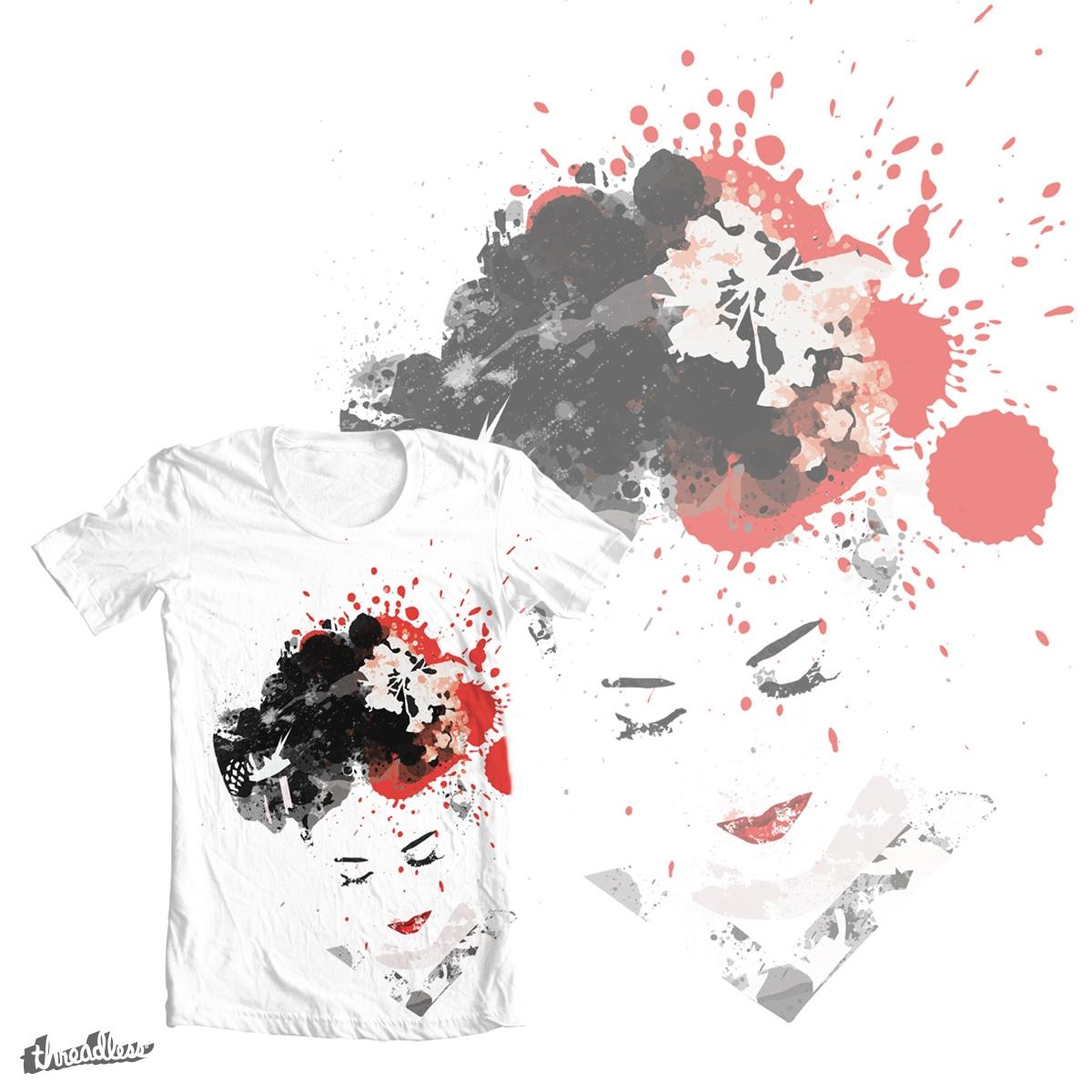 Geisha  by Andooo on Threadless