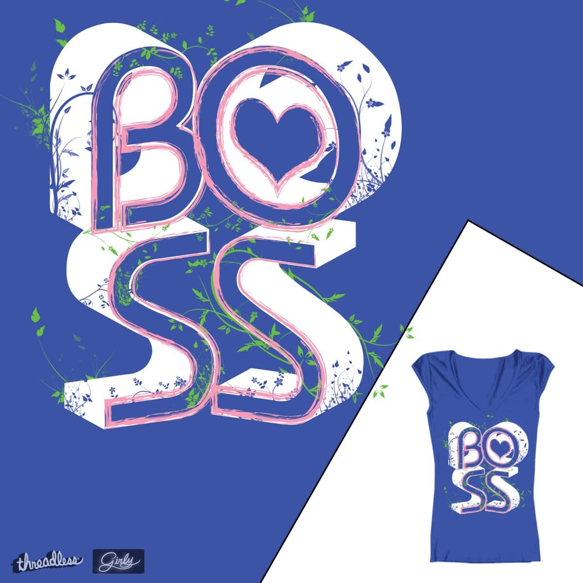 Who's the Boss? by FlyClothingJA on Threadless