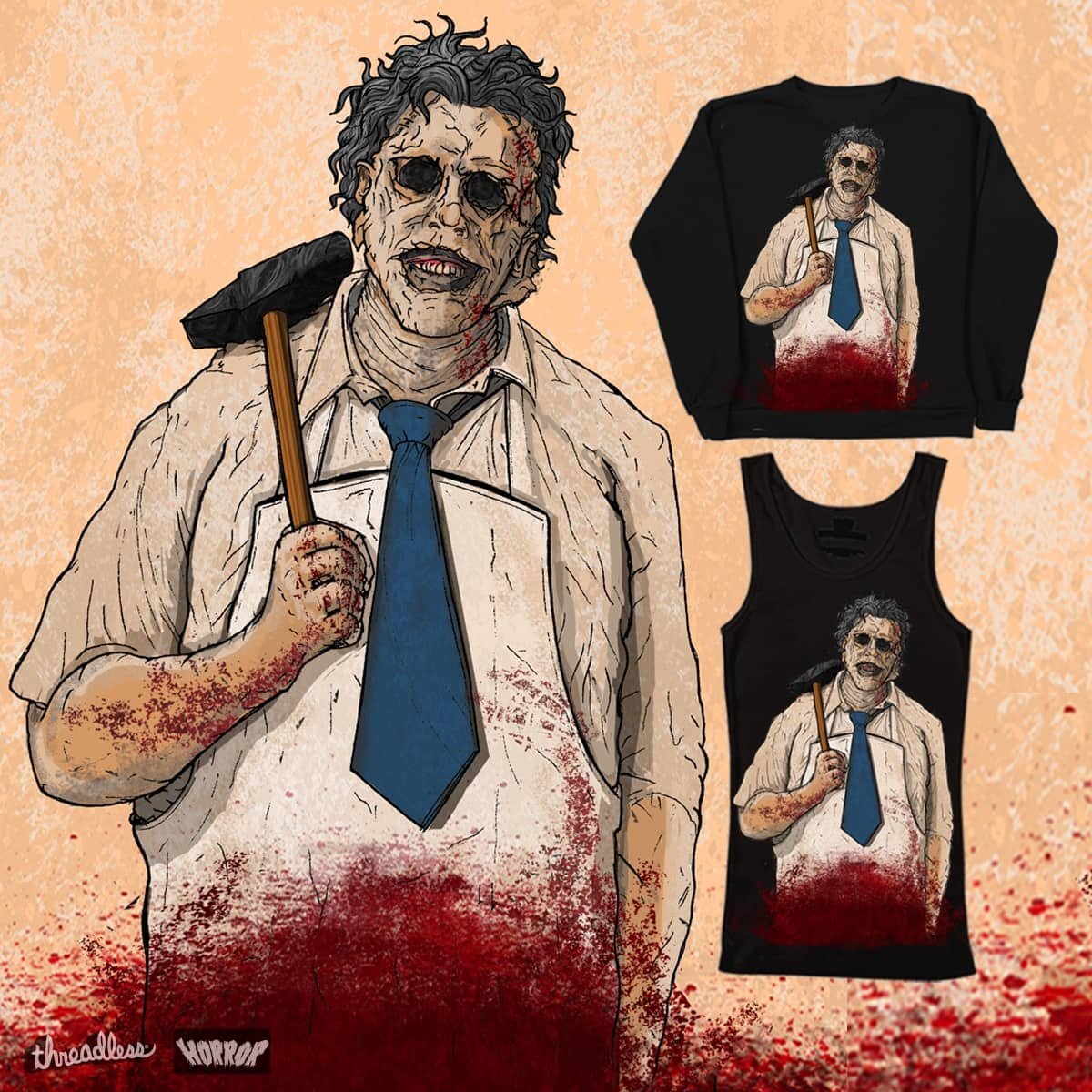 The Texas Chainsaw Massacre - 1974 by mrleontaylor on Threadless