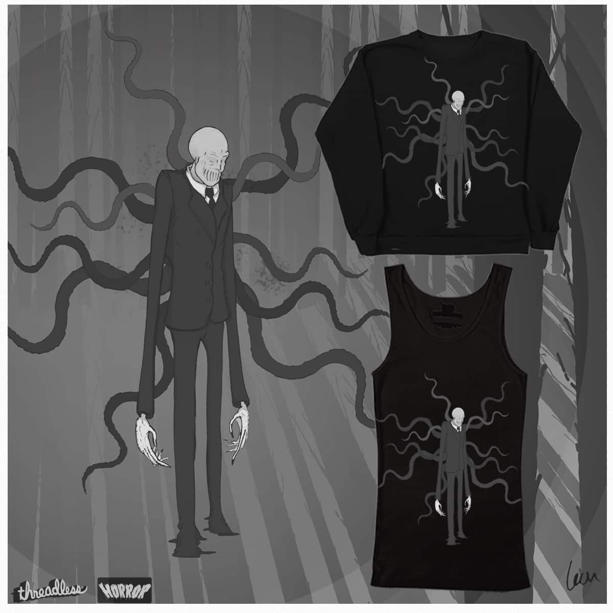 The Slenderman  by mrleontaylor on Threadless
