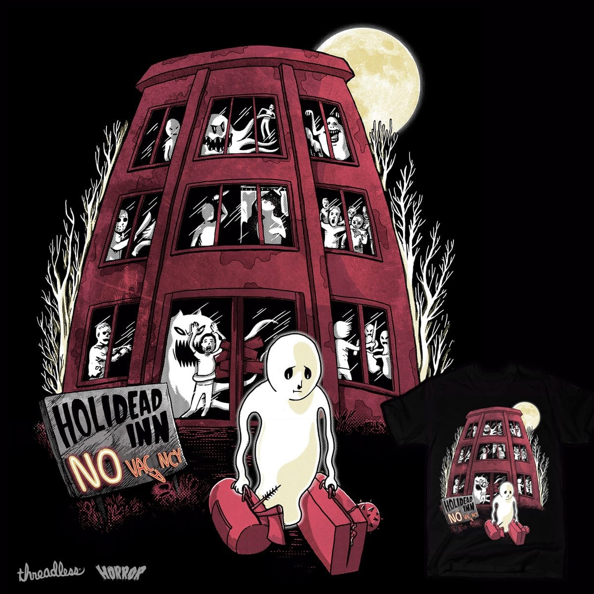 Holidead Inn by Raulio and FRICKINAWESOME on Threadless