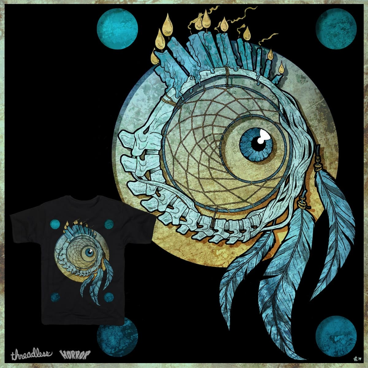 Dreamsnatcher by chuwho on Threadless