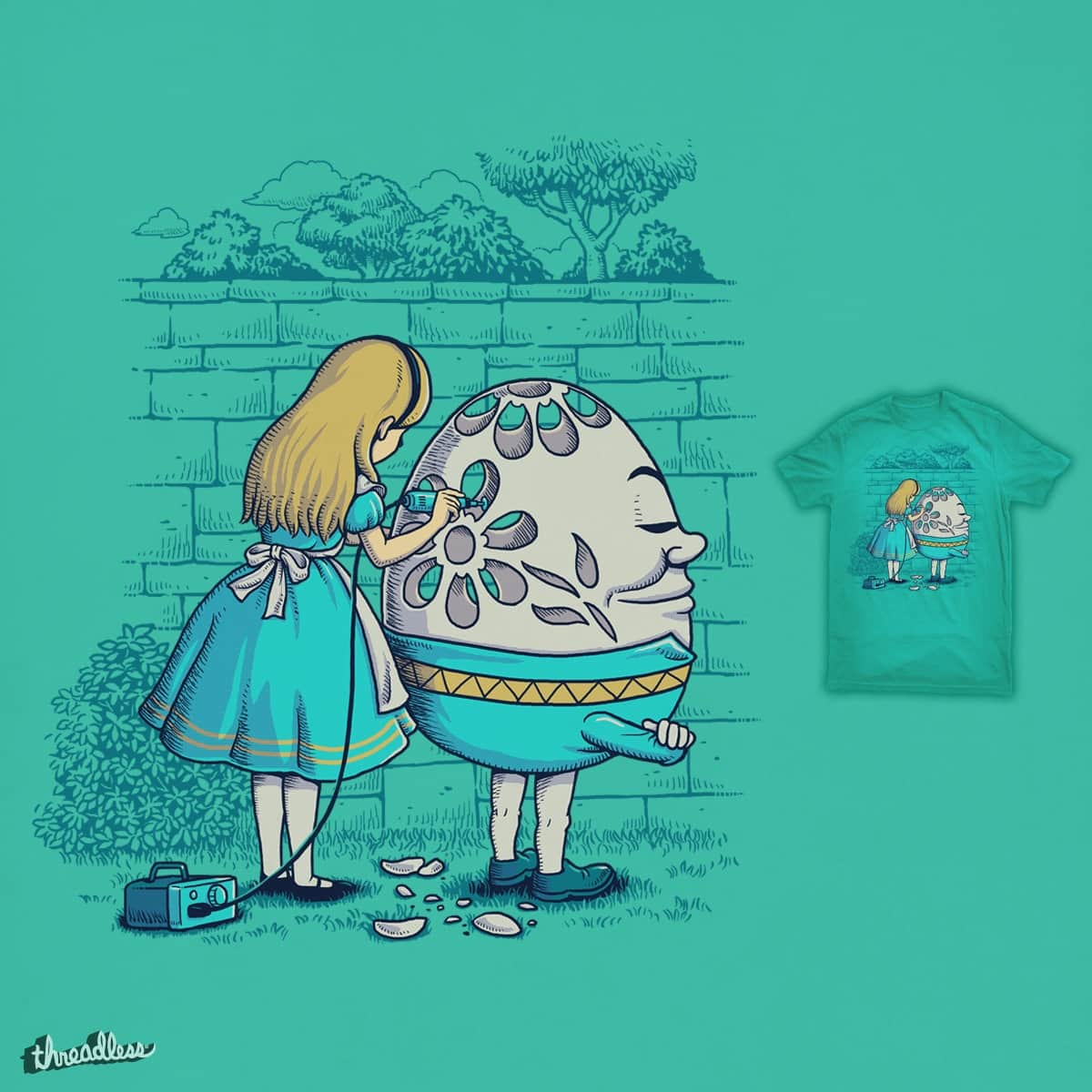 Eggshell Carving by ben chen on Threadless