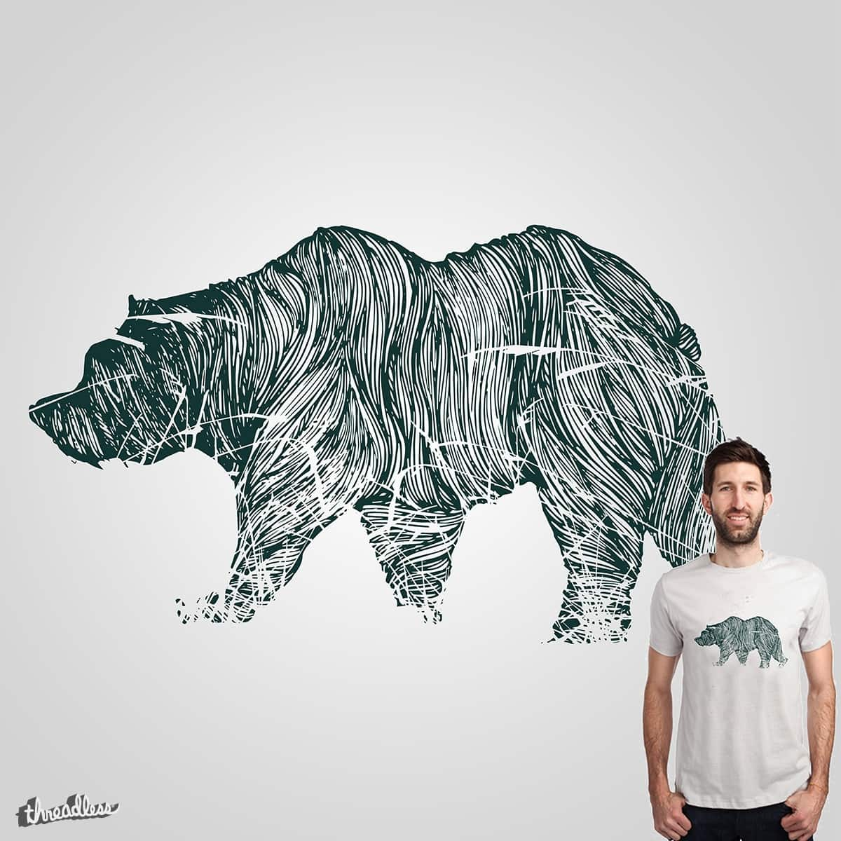 The Embroidered Bear by Loremnzo and RiccardoXIII on Threadless