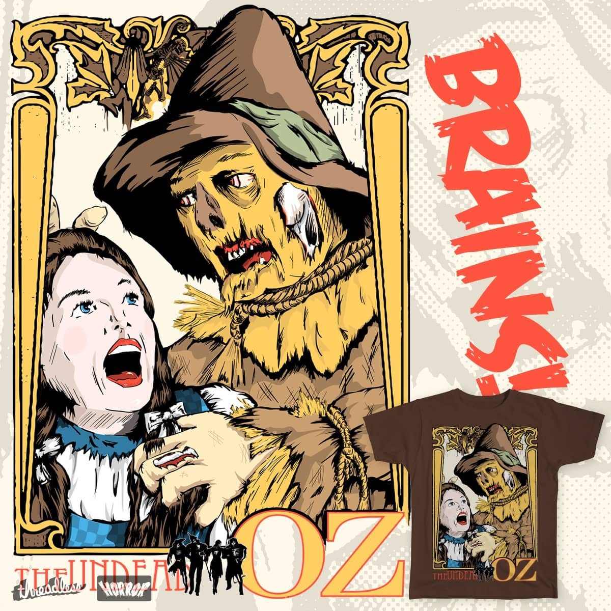 Zombie Oz by King_Friday on Threadless