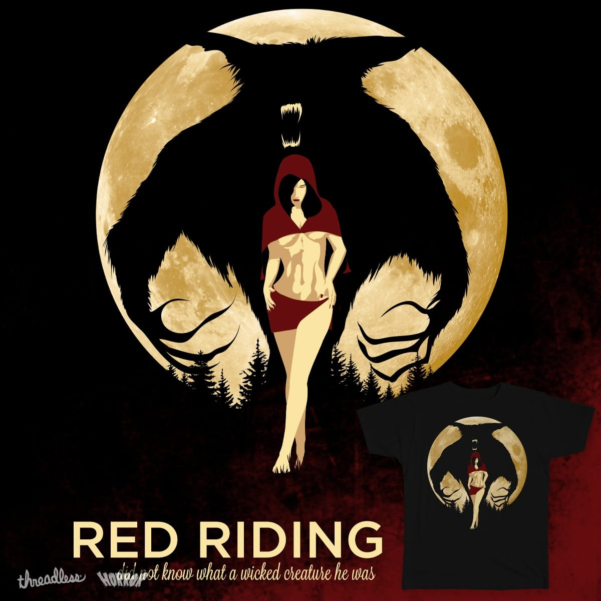Red Riding by King_Friday on Threadless