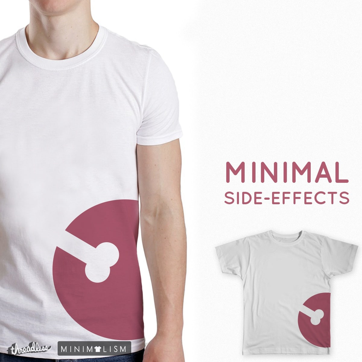 Minimal Side-Effects by tobyroberts on Threadless