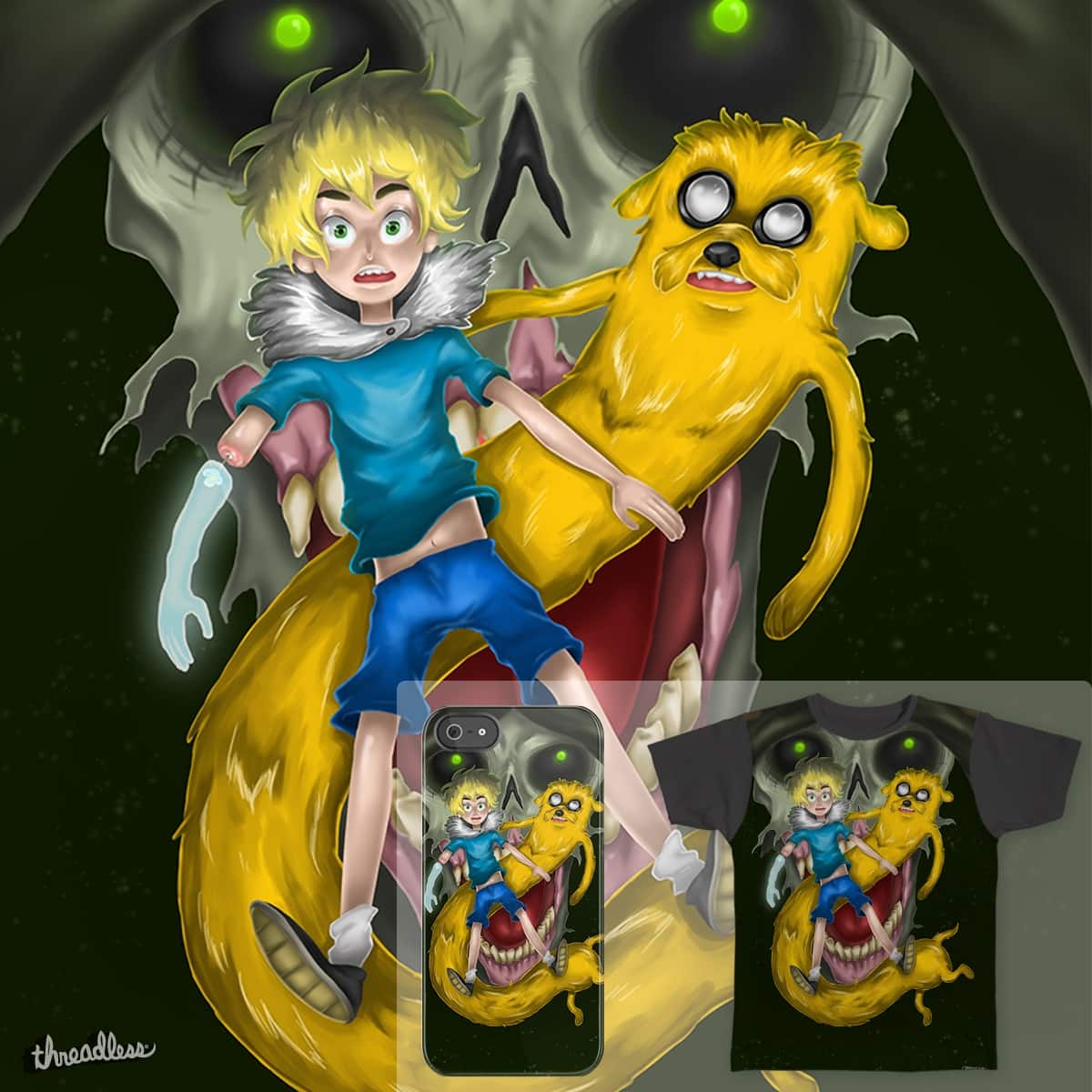 Adventure Time  by Caipa on Threadless