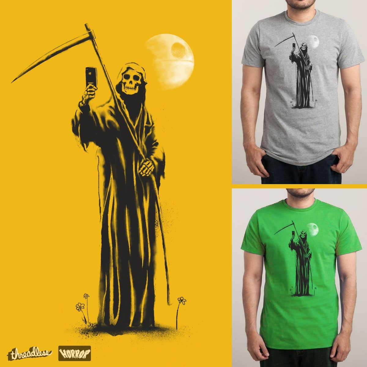 The Selfie of Death by GloopZ on Threadless