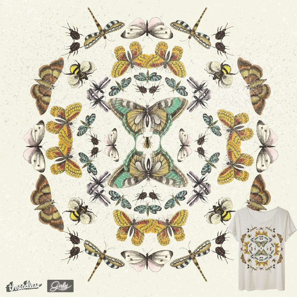 mandala bugs by amaara on Threadless