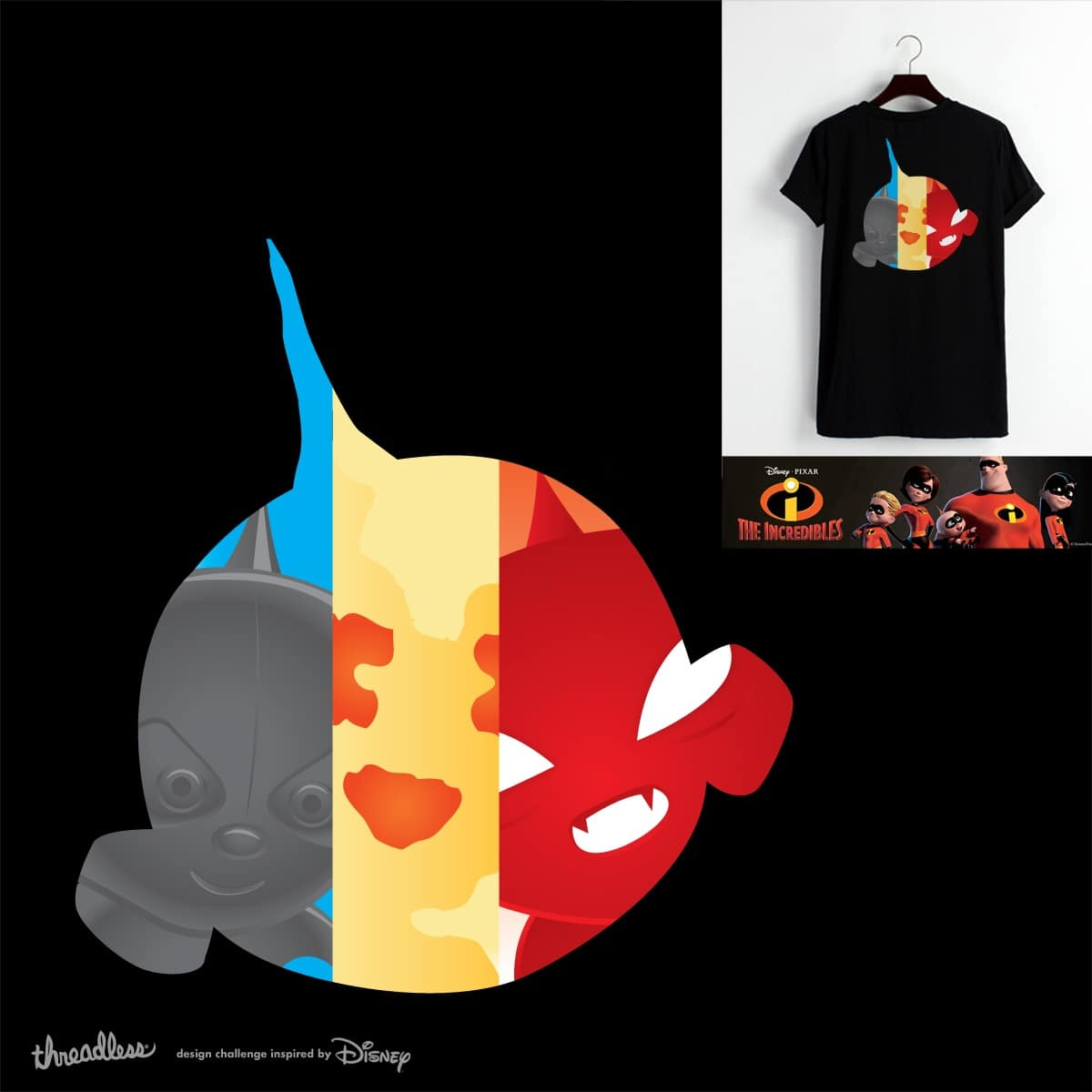 The Incredible Jack Jack by pcsterry on Threadless