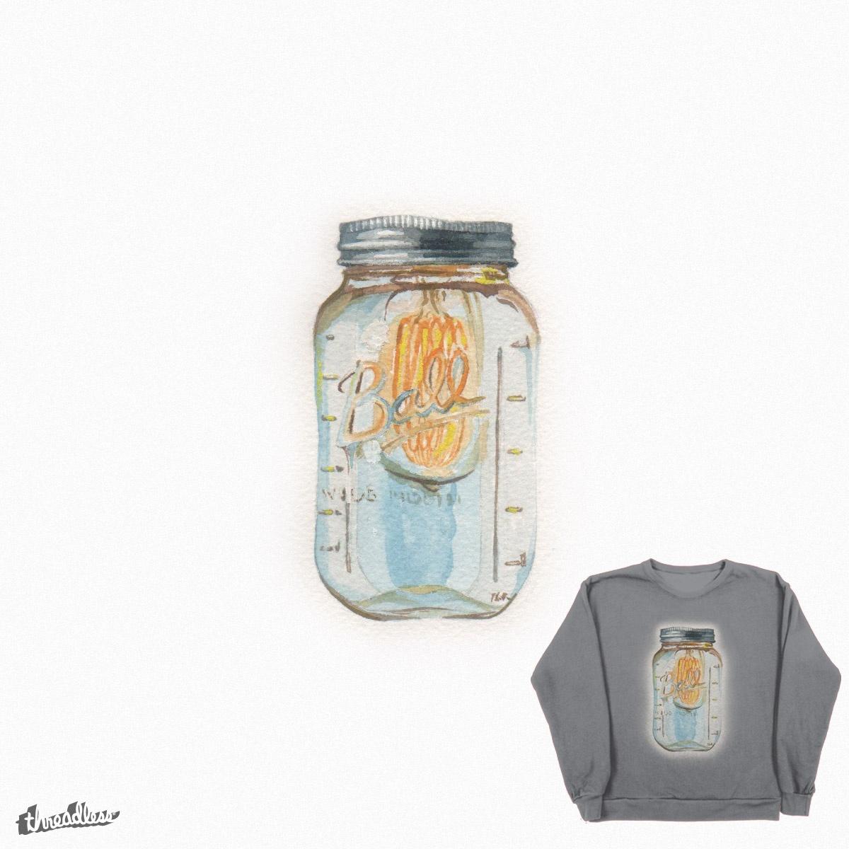 Mason Jar by Tahlay-Christie on Threadless