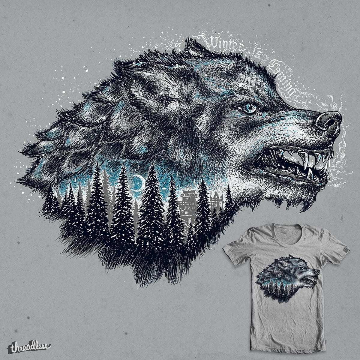 Winter by alan maia on Threadless
