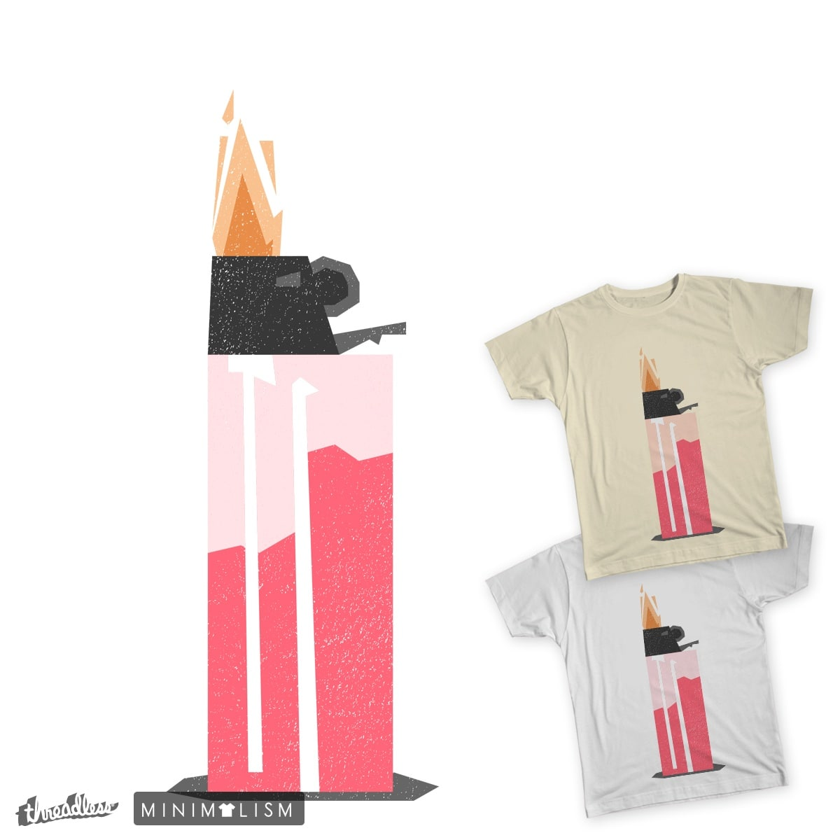 on fire by fajrimaulana on Threadless