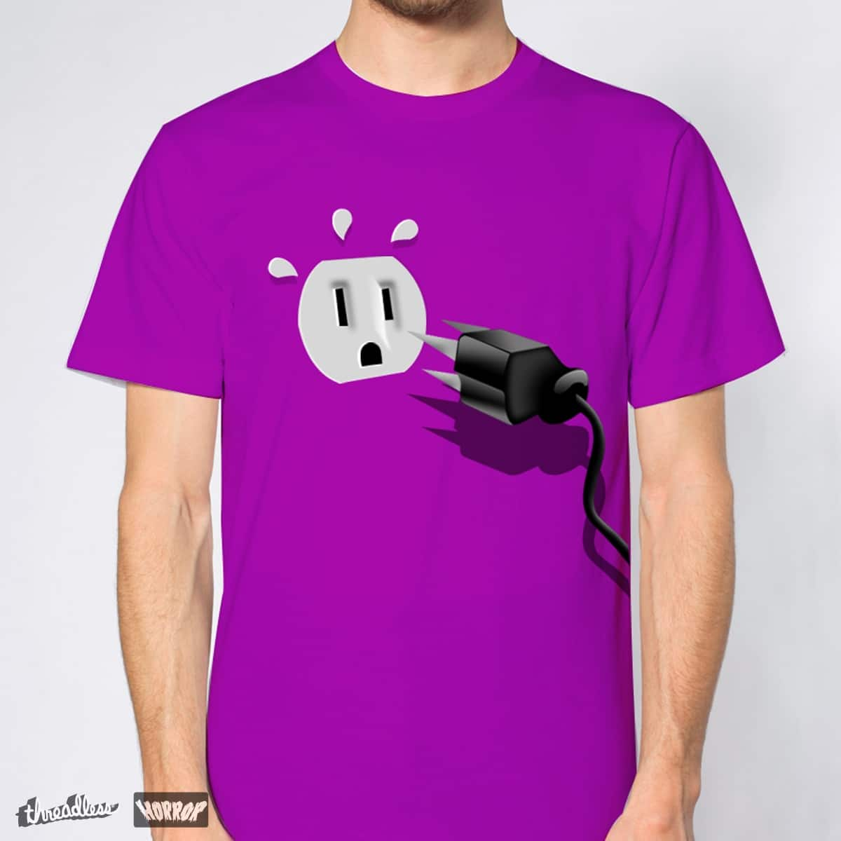 Electroshock! by Patricio Vegezzi on Threadless
