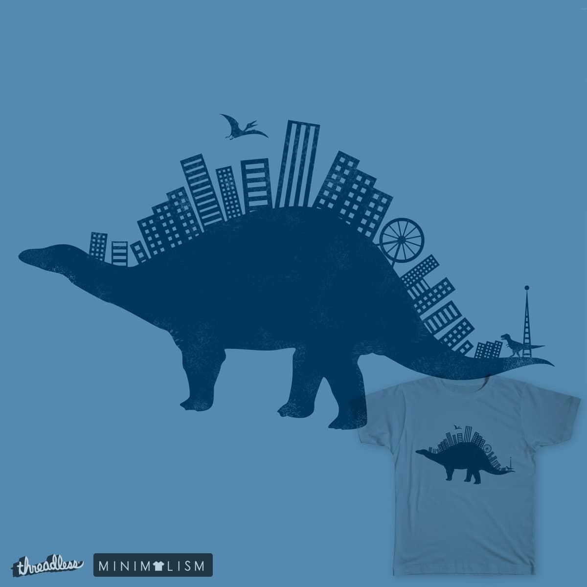 Citysaur by Atalyk on Threadless