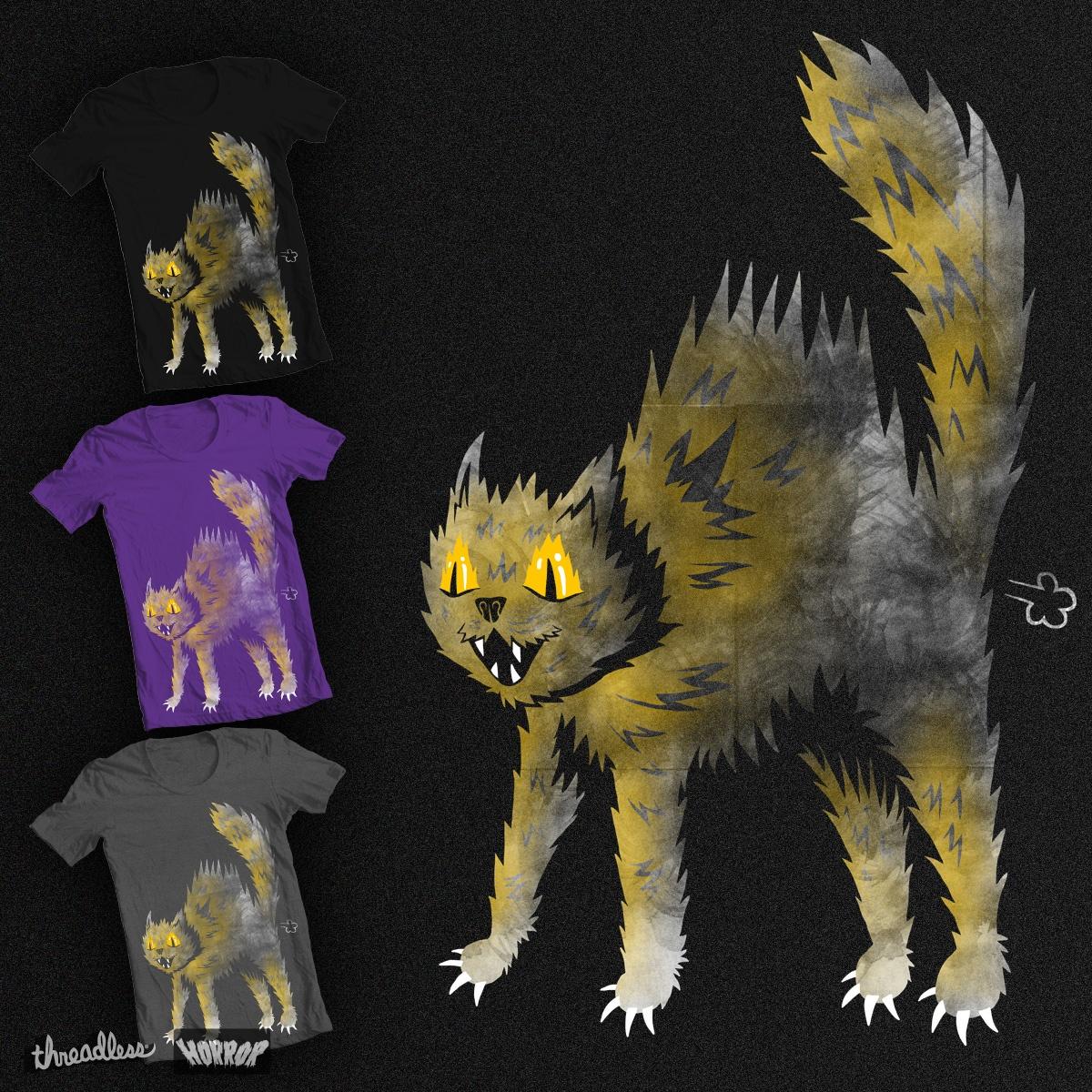 Scaredy Cat by Jaxxer on Threadless