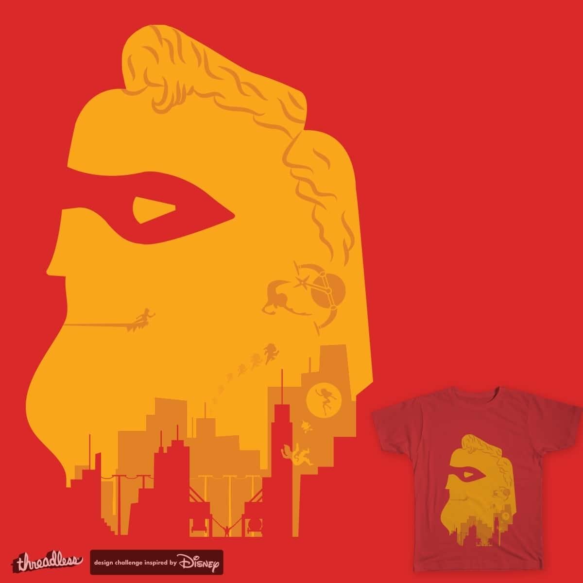 Mr Incredibly large head by GregSuj on Threadless