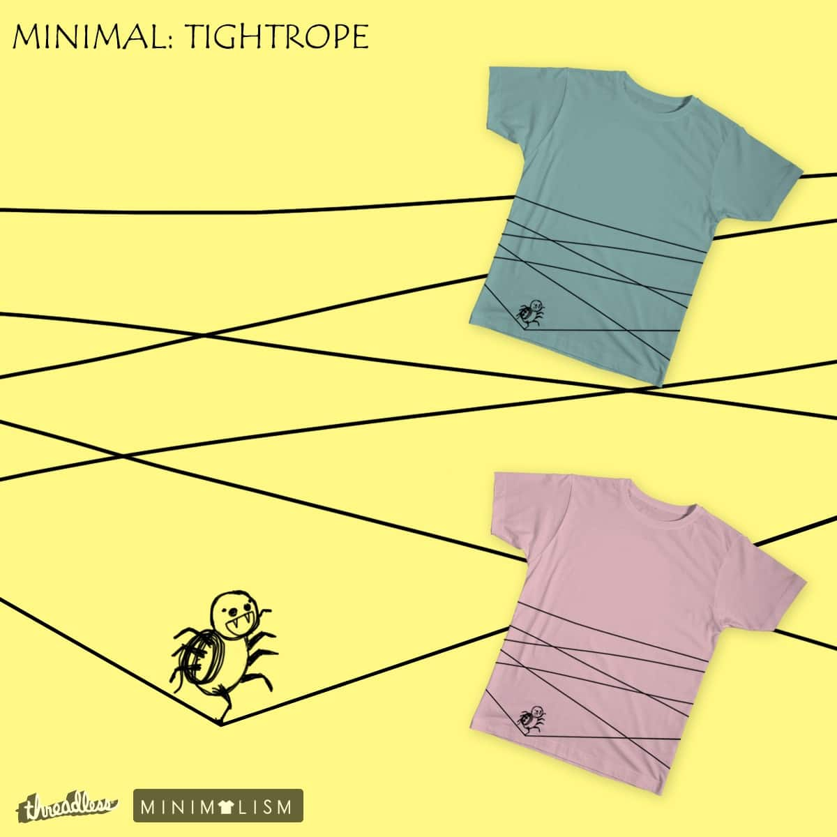 Tightrope by bt92130 on Threadless