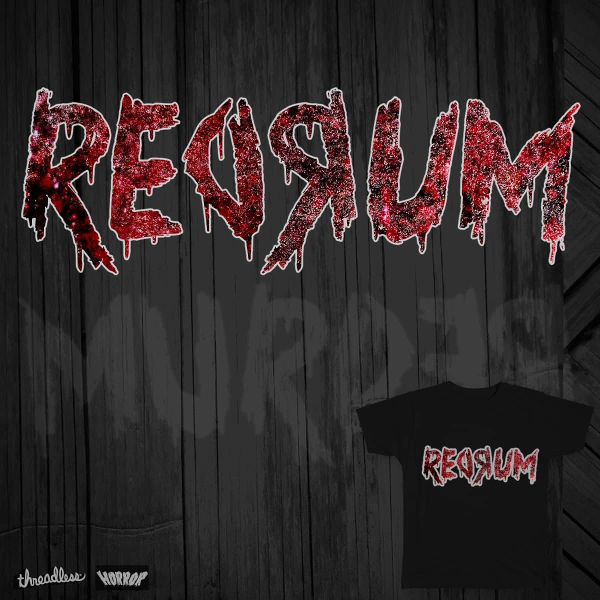 ReDRuM by WallaceKnight on Threadless