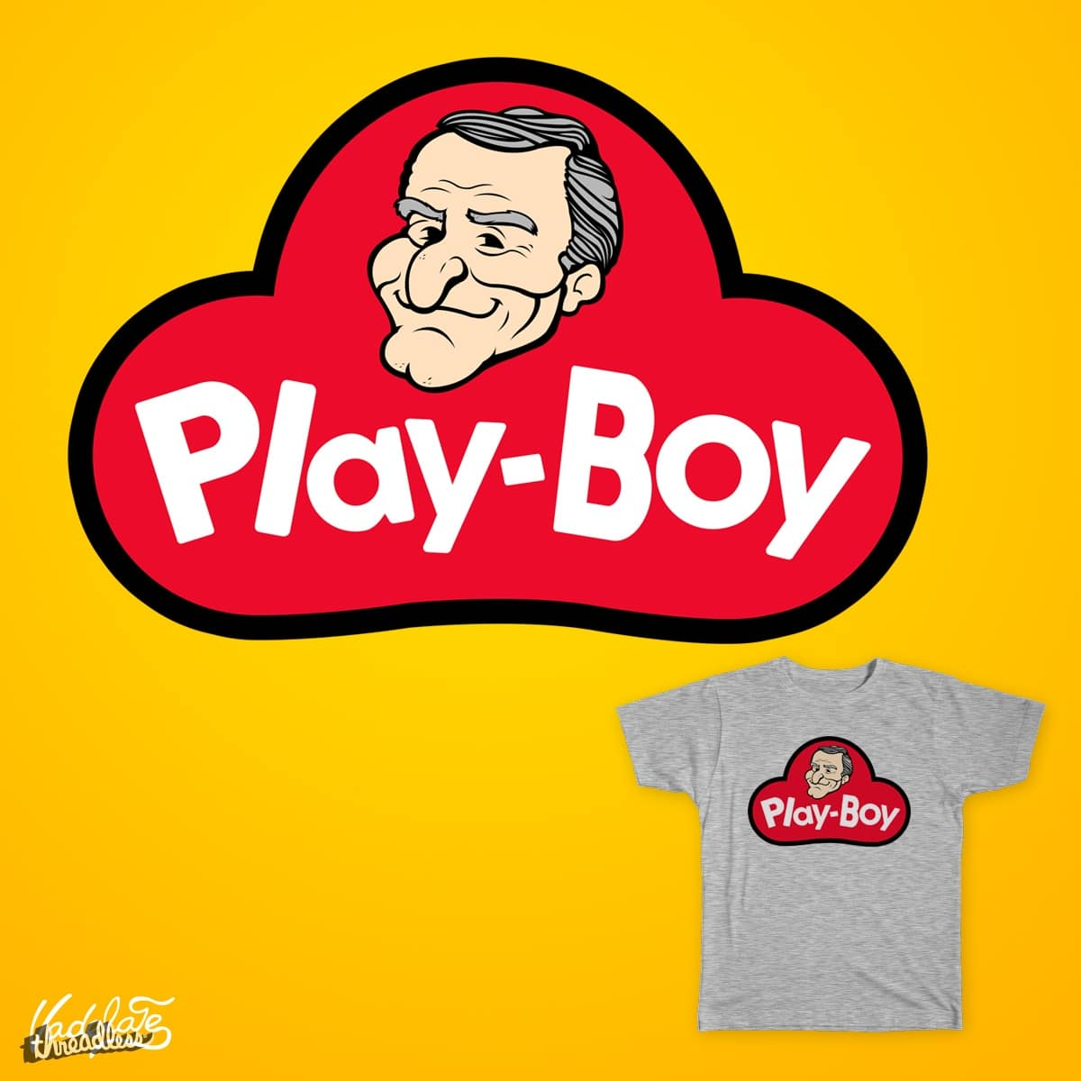 Play-Boy by vadelate on Threadless
