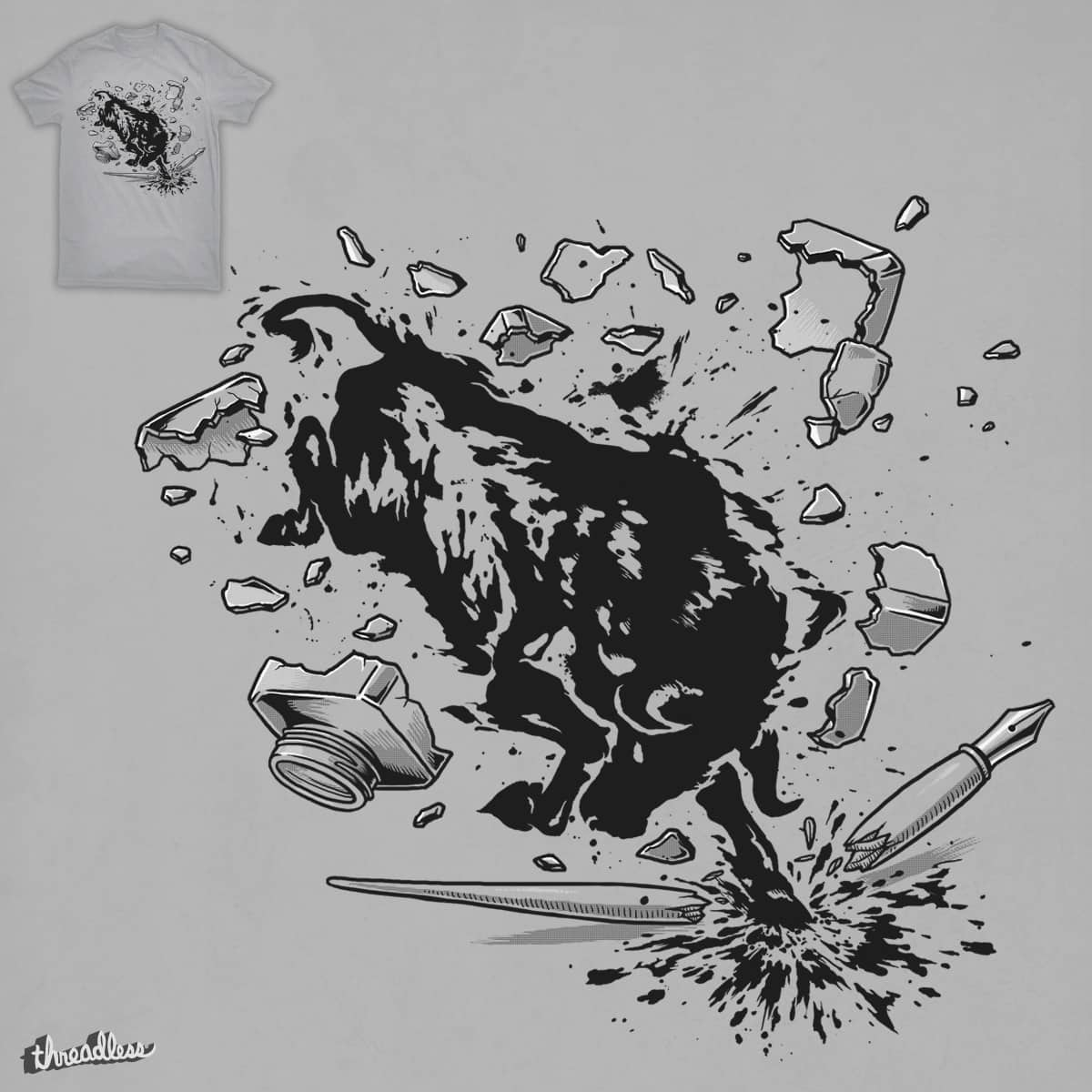 Bull Ink by ben chen on Threadless
