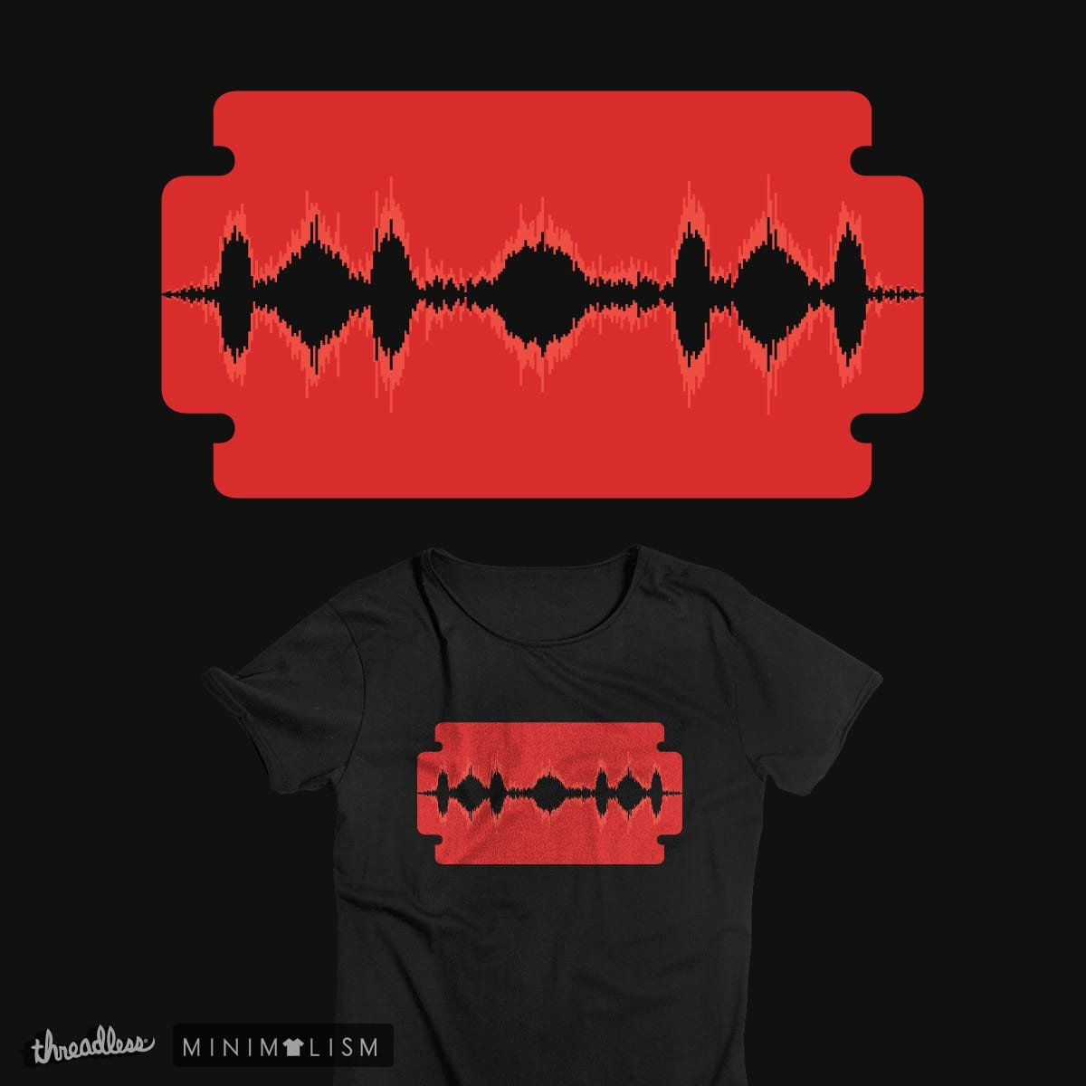 Edit The Sound by tshirtbaba on Threadless