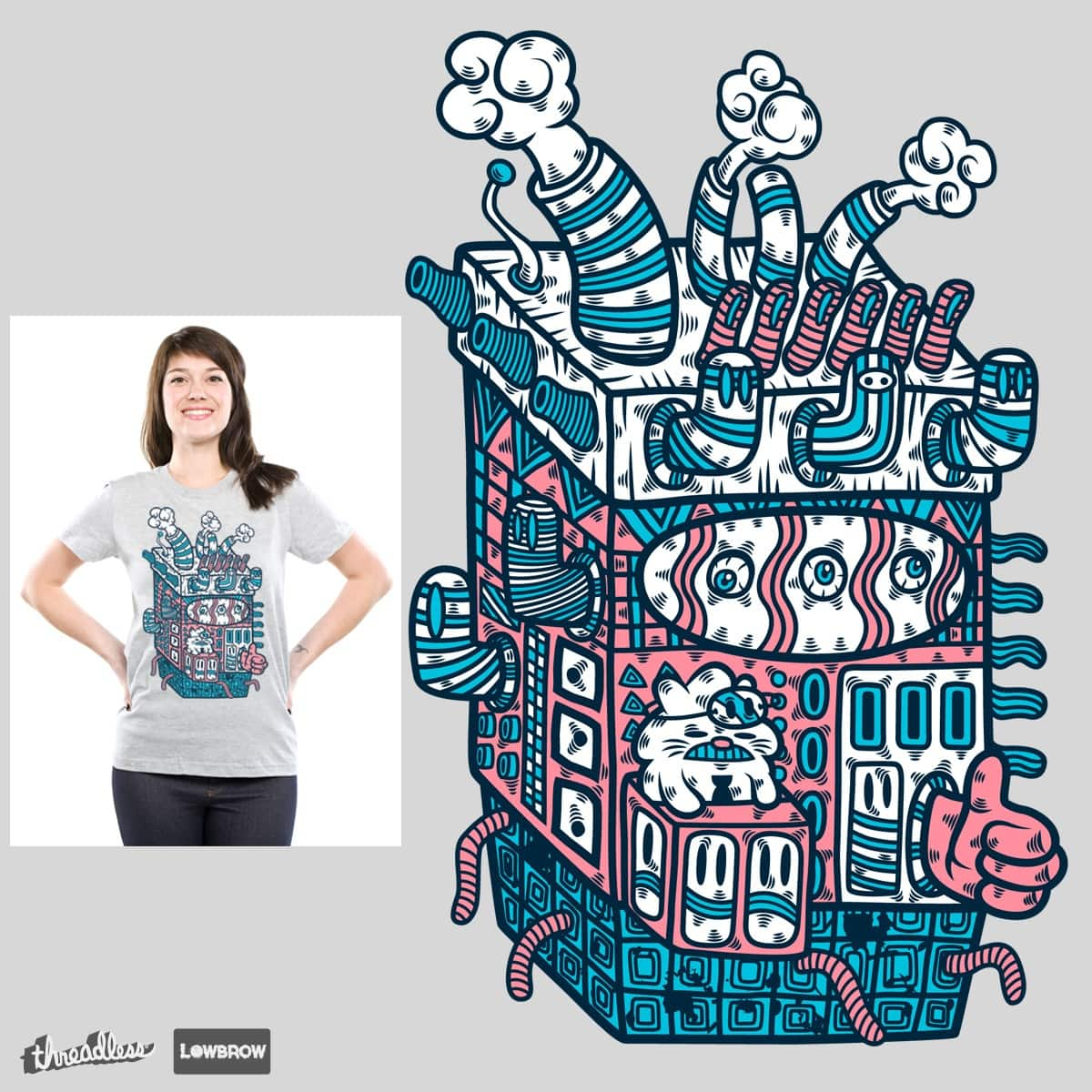 Turtz and The Factory  by krisren28 on Threadless