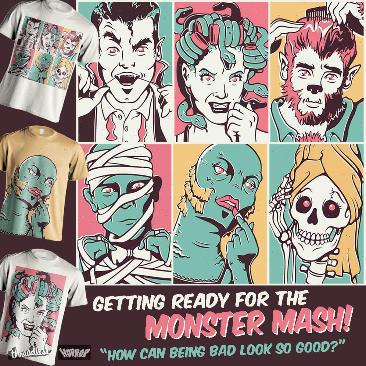 The Monster Mash by Nathan Joyce on Threadless