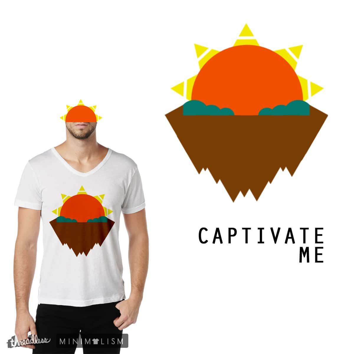 Captivate Me by aaron_galaxy on Threadless