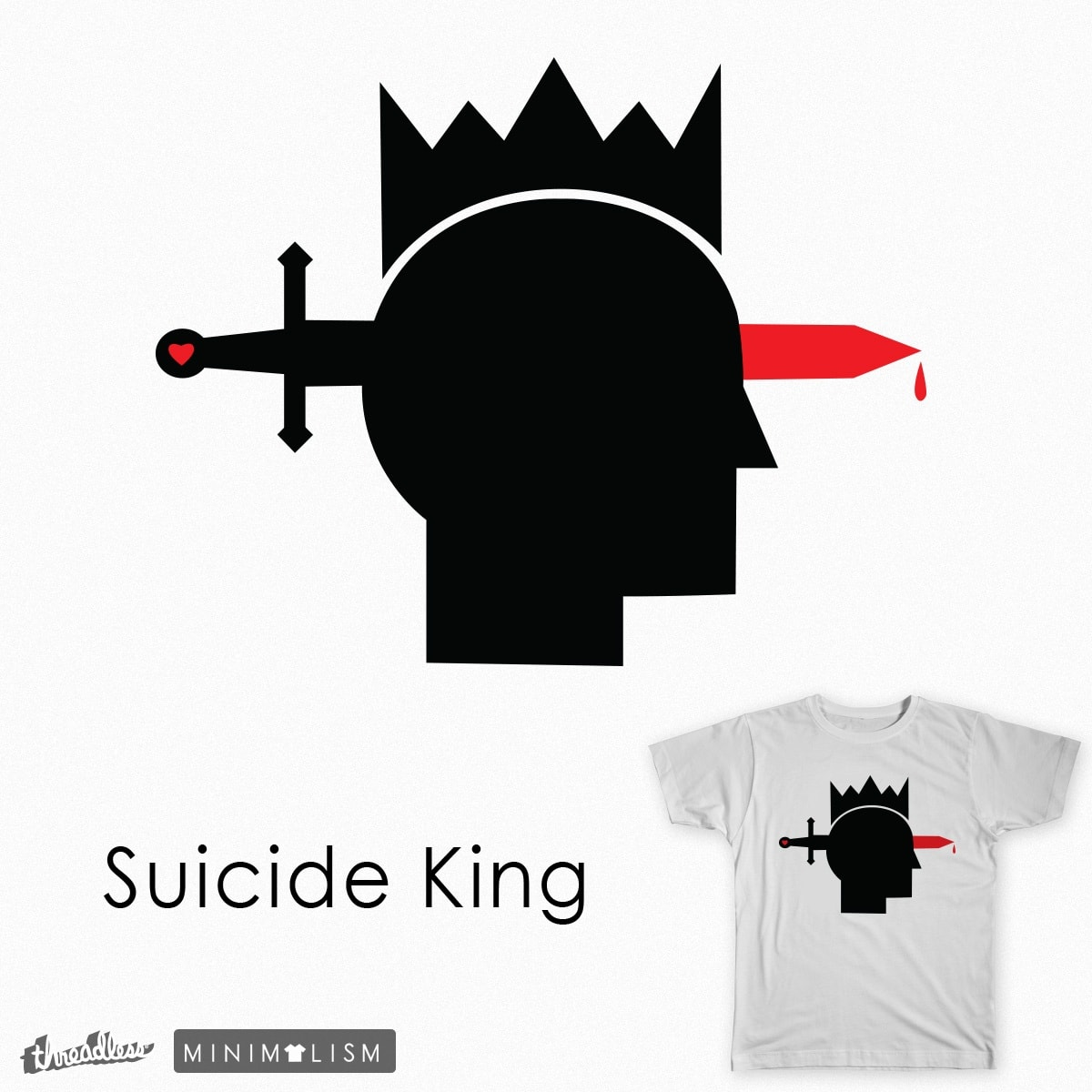 Suicide King by Kentack on Threadless