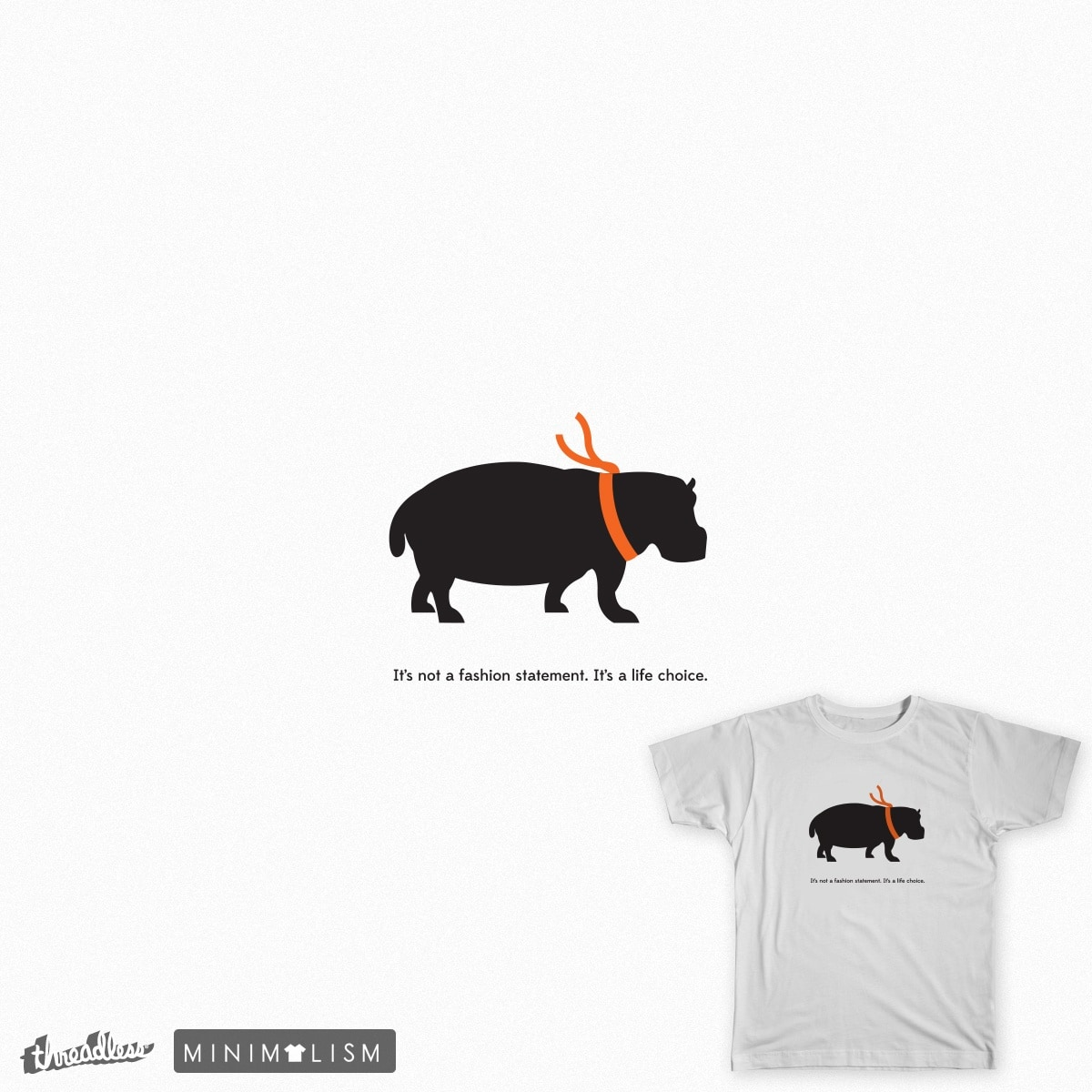 Hippo Statement by themysterydpns on Threadless