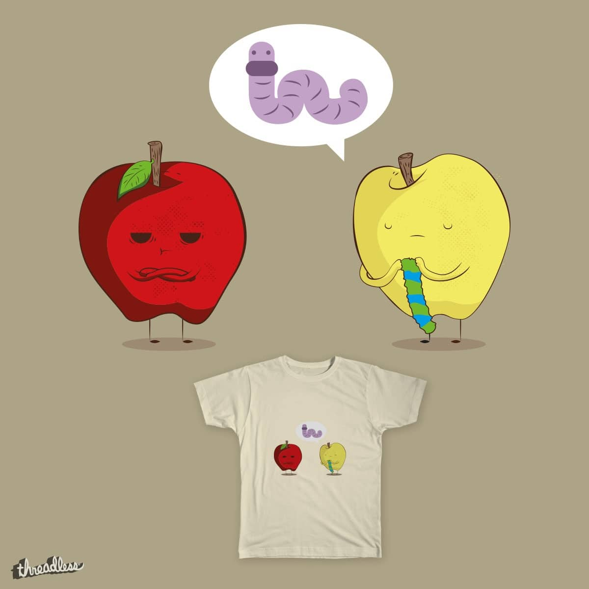 is a worm by Tlachi on Threadless