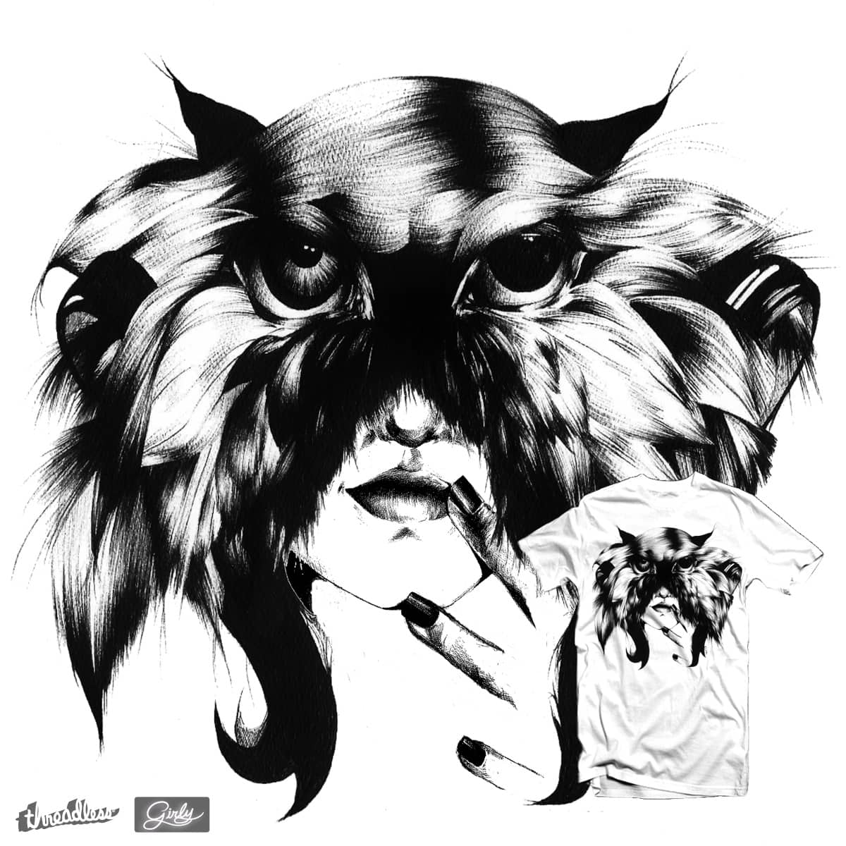 Feather or Foe? by Jaguar6Styx on Threadless