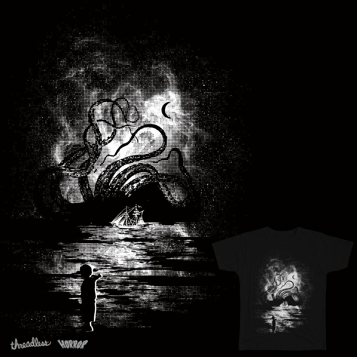 Kraken Carnage by daletheskater on Threadless