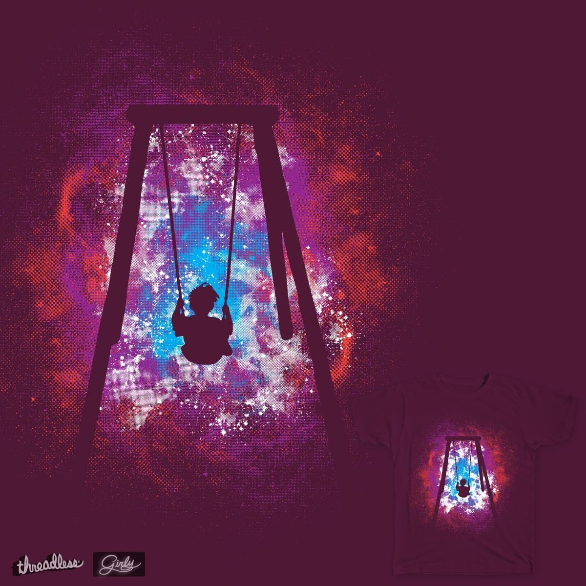 Space Swing by daletheskater on Threadless