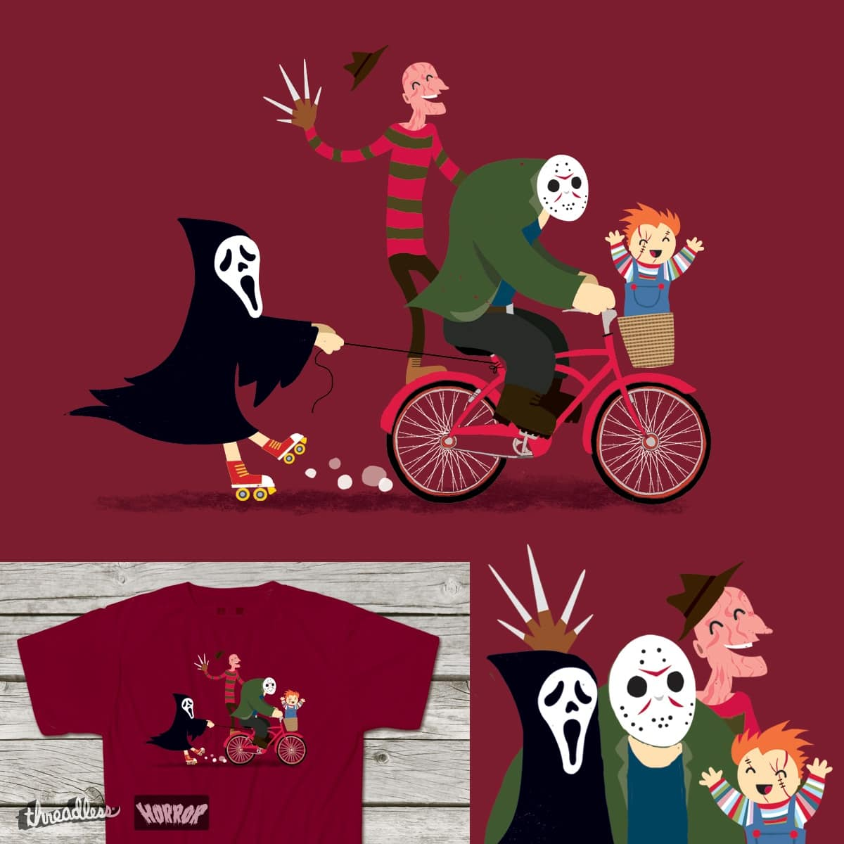 Horror Night Off by DinoMike on Threadless