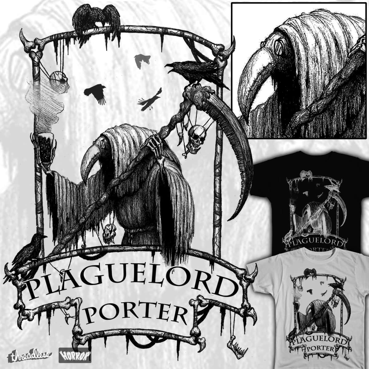 Plaguelord Porter by NW_Studios on Threadless