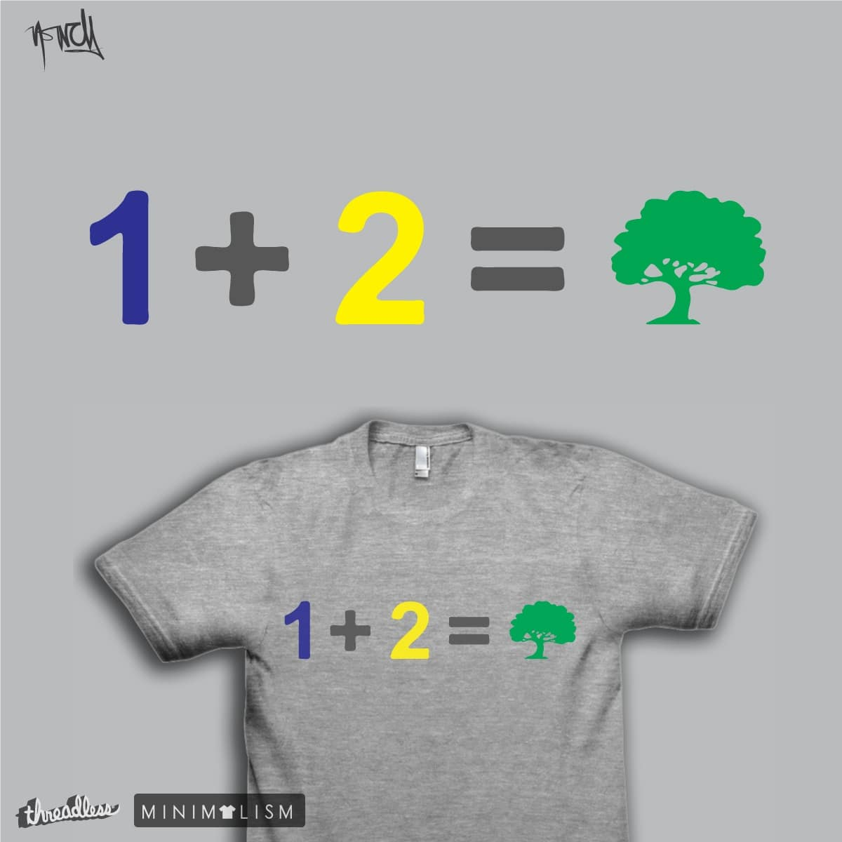 Addition of Numbers and Colors by je14 on Threadless