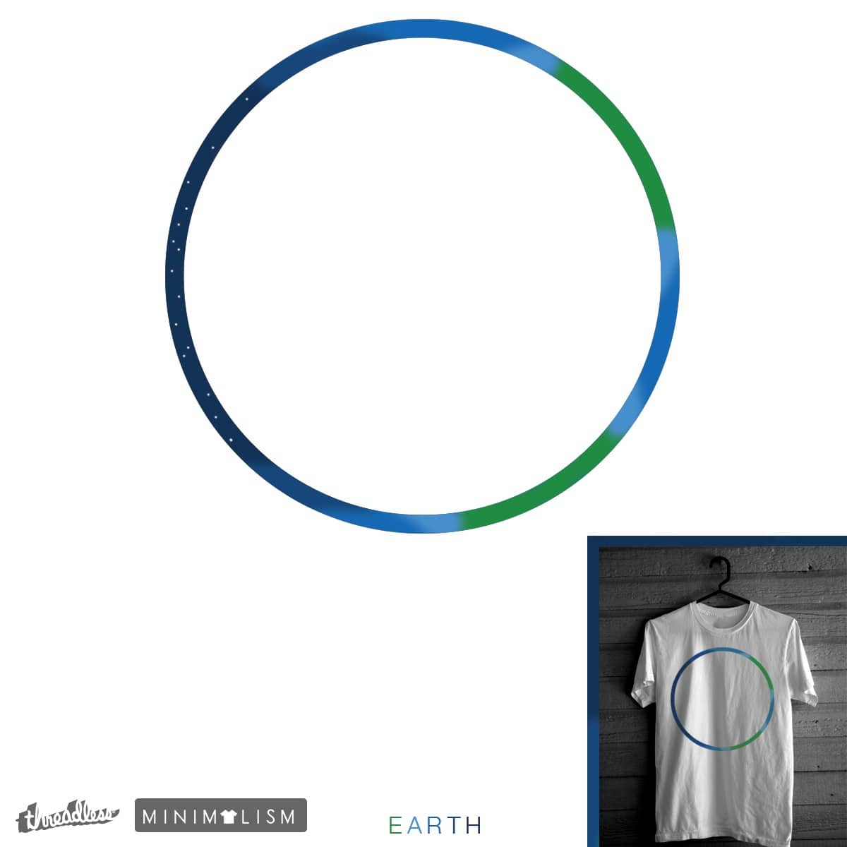 Earth  by parallelish on Threadless