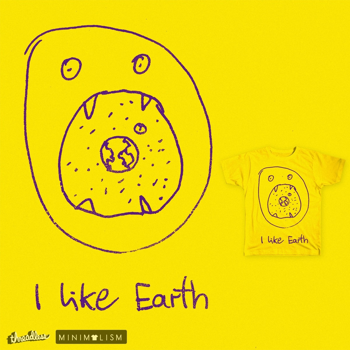 I like Earth by 38Sunsets on Threadless