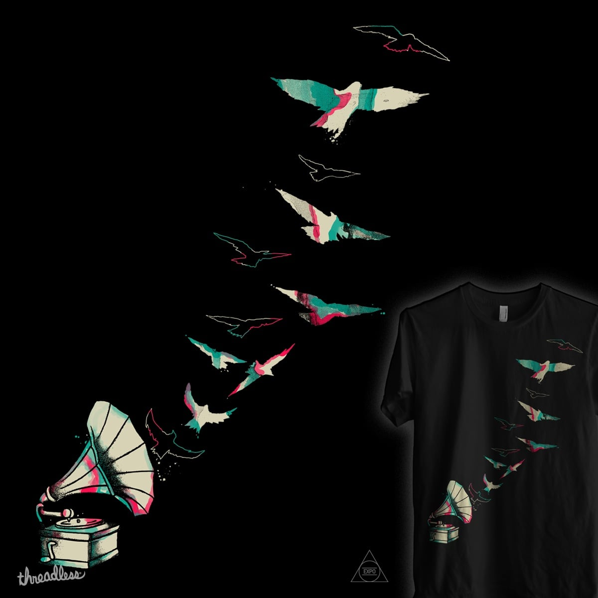 Color Symphony by expo on Threadless