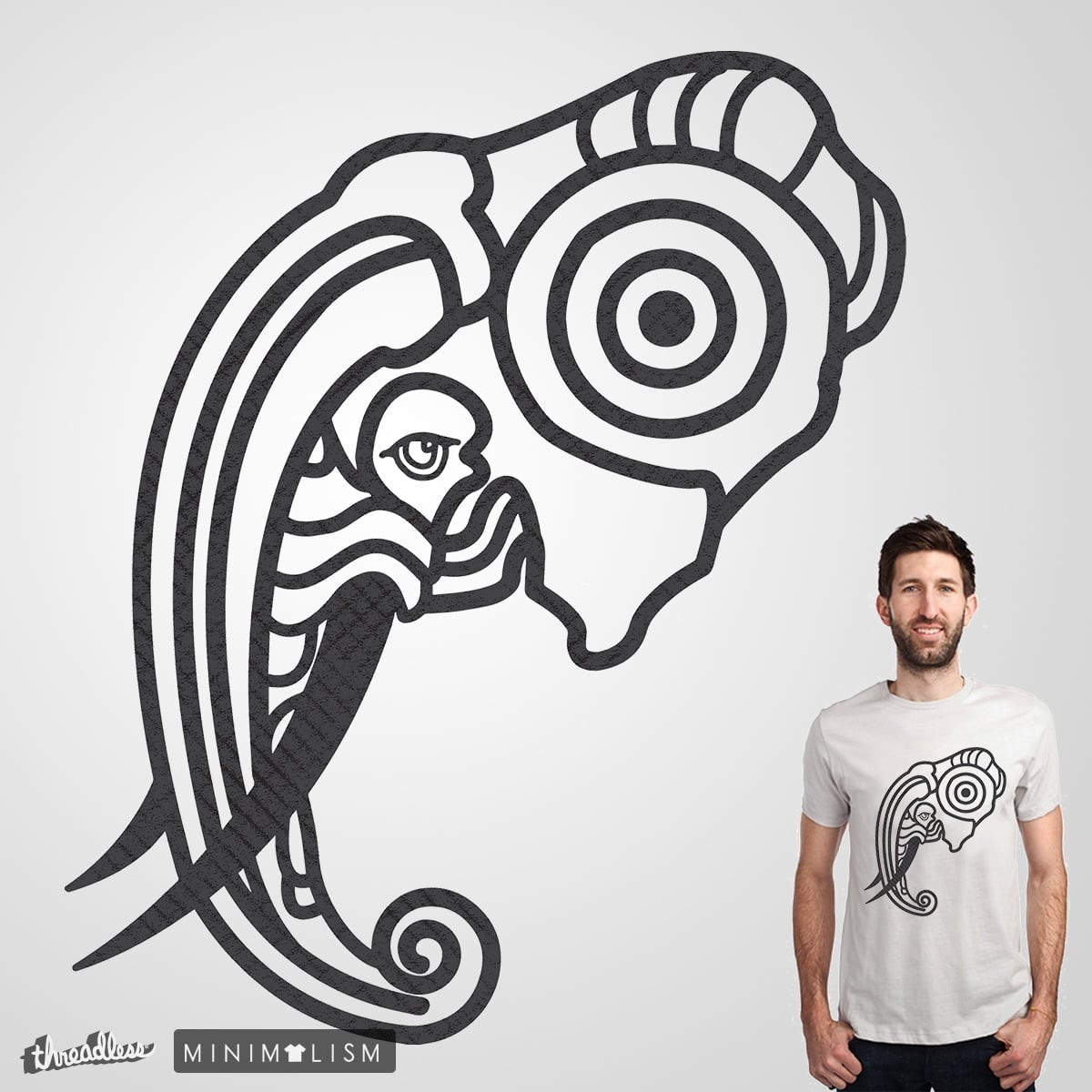 MINIMAL ELEPHANT by Loremnzo on Threadless