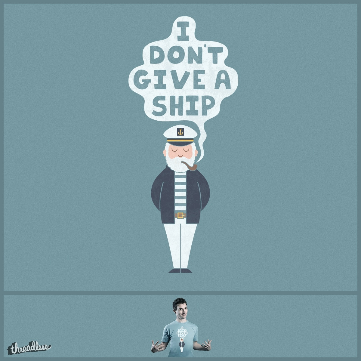 The Indifferent Captain by TeoZ on Threadless