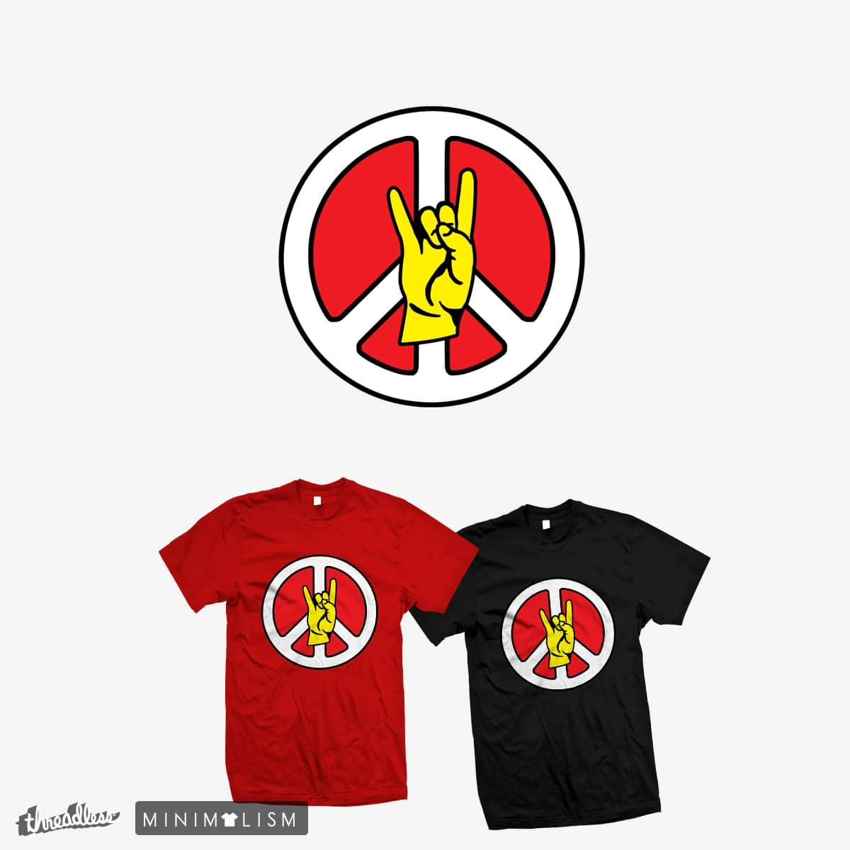 Peace-Luv-Rock by ExplorerTales on Threadless