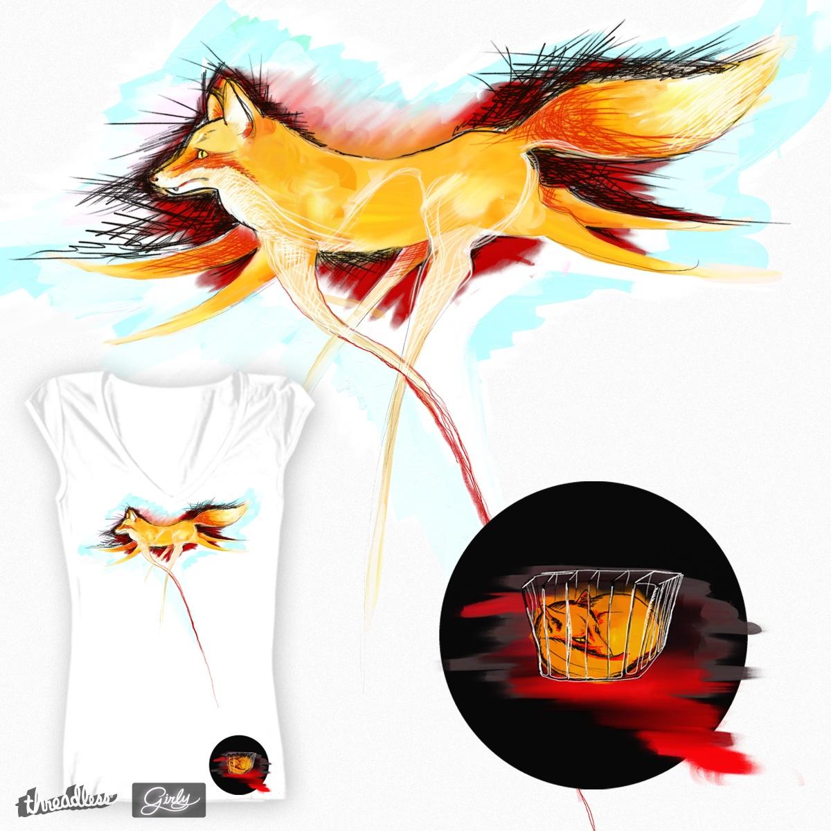foxy life by LeniMo on Threadless