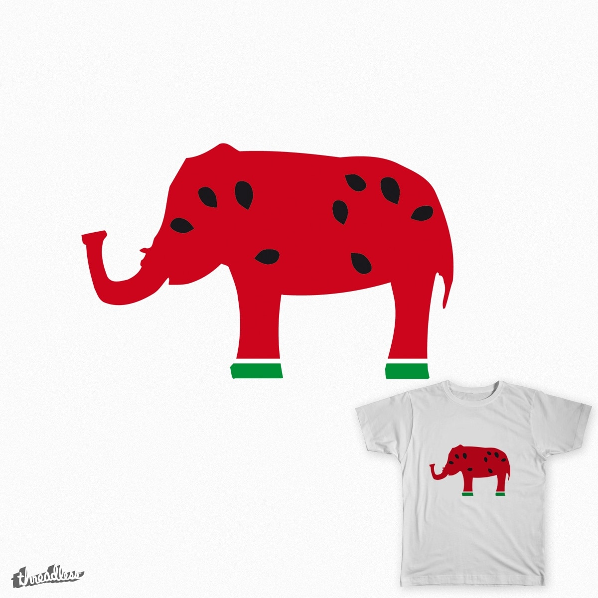 Eliphant by eliocumitini on Threadless