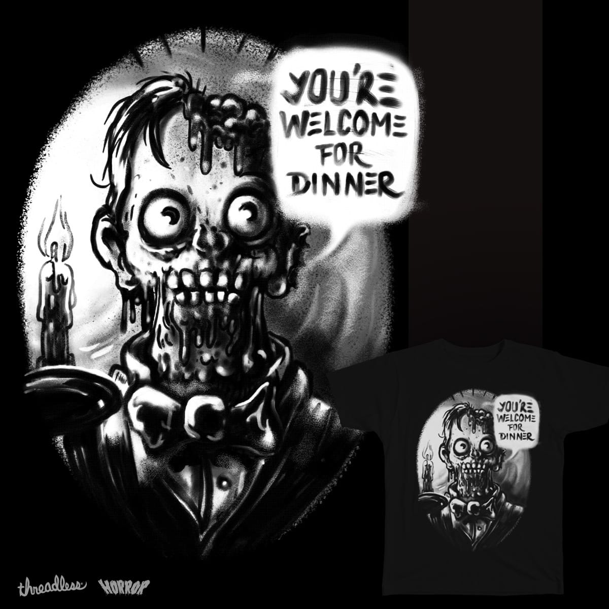 Dinner is Ready by Gums. on Threadless