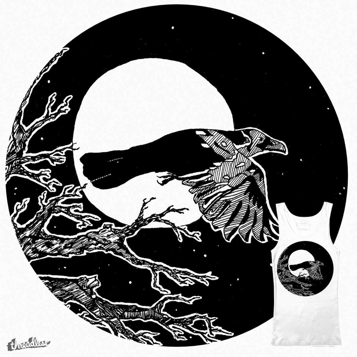Crow by Djenne on Threadless