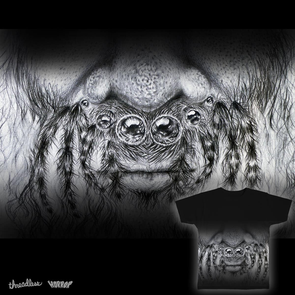Spiderbeard by Somyay on Threadless